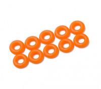 Oリングキット3ミリメートル(ネオンオレンジ)(10個入り/袋)