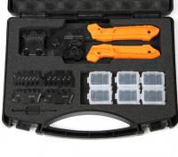 エンジニア株式会社PAD-01のオープンバレルハンディ圧着工具セット