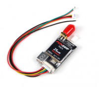 Foxeer TM25 5.8G 40CH 25MWレースバンドRPSMAビデオトランスミッター