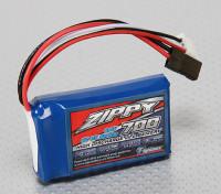ジッピーFlightmax 700mAh 6.6V 5CのLiFePO4受信機パック
