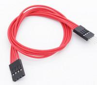 LED RGBマルチファンクションドライバ/コントローラ用の250ミリメートル4ピン延長ケーブル