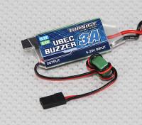低電圧ブザー付きTurnigy 3A UBEC