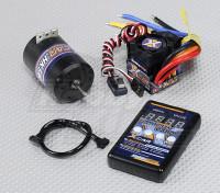 HobbyKing X-カーブラシレスパワーシステム3000KV / 45A