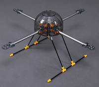Turnigy HAL(ヘビー空中リフト)クワッドローターフレーム585ミリメートル