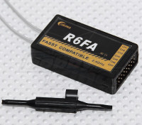 コロナR6FA 2.4GHzのFASST対応受信機