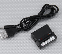 WalkeraのGA006 USBのデュアルLipoly充電器(QRテントウムシ/天才CP /ミニCP)