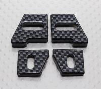 バランサTurnigy TD10 4WDツーリングカーとバッテリーホルダー(1セット)