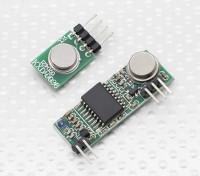 スーパーヘテロダイン3310ワイヤレス受信機モジュールと433RFワイヤレストランスミッターモジュール