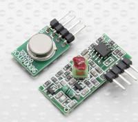 315RFワイヤレストランスミッターモジュールとワイヤレスレシーバーモジュール