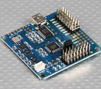 MultiWii 328PフライトコントローラFTDI&DSM2コンプ/ワットポート