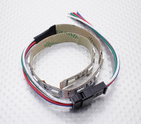 LED赤、緑、青(RGB)ストリップ25センチメートルワット/フライングリード