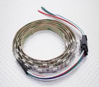 LED赤、緑、青(RGB)のストリップ1Mフライングリード/ワット