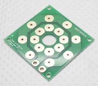 Hobbykingマルチローター配電基板(DIY 8×出力PCB)