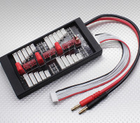 HobbyKing®セーフ40Aのパラレルチャージボード4パック2〜6S(T-コネクタ)
