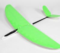 バタフライトレーナー機のV-テールグライダーはウィングの1140ミリメートルを内蔵 - グリーン(ARF)