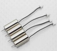 0716交換用ブラシ付きセットHobbyKingポケットクワッドV1.1クワッドローター(4PC)