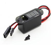 Turnigyヘビーデューティレシーバースイッチ/ LED電圧Dispay