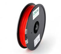 ESUN 3Dプリンタのフィラメントレッド1.75ミリメートルPLA 0.5KGスプール
