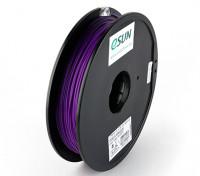ESUN 3Dプリンタのフィラメントパープル1.75ミリメートルPLA 0.5KGスプール