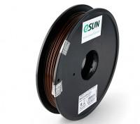 ESUN 3Dプリンタのフィラメントブラウン3ミリメートルPLA 0.5KGスプール