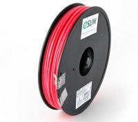 ESUN 3Dプリンターフィラメントピンク3mmのABS 0.5KGスプール