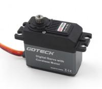Goteck HC1621S HVデジタルMGハイトルクSTDサーボ23キロ/ 0.12sec / 53グラム