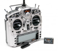 FrSky 2.4GHzのACCST TARANIS X9D PLUSとX8Rコンボデジタルテレメトリー無線システム(モード1)