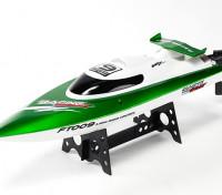 FT009高速Vハルレーシングボート460ミリメートル - グリーン(RTR)