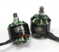 Multistarエリート2312 980KVモーターセットCW / CCW EZOベアリング、4ミリメートルメインシャフト、N45SHマグネット(2モーター)