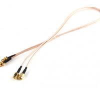 RP-SMAプラグ< - > RP-SMAジャック500ミリメートルRG316拡張(2個/セット)