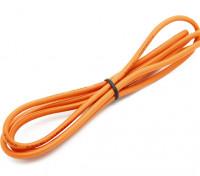 Turnigy高品質16AWGシリコンワイヤー1メートル(オレンジ)