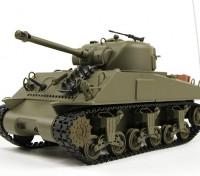 US-M4A3シャーマン中RC戦車RTRワットのTx /(EU倉庫)