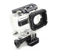 GoProヒーロー用レンズなしスケルトン保護ハウジング3