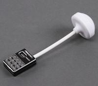 Mi600sミニ5.8GHz帯600mWの32CHワイヤレスビデオトランスミッター(ブラック)