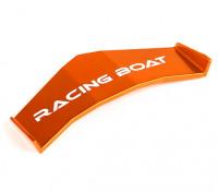 FT009高速Vハルレーシングボート460ミリメートル交換スポイラー(オレンジ)