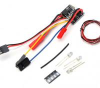 OH35P01 1/35ロッククローラーキット -  2 1 2SにおけるリポESC LEDライトセット/ワット