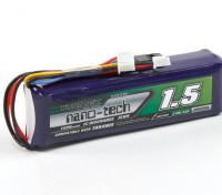Turnigyナノテクノロジーの1500mAhのLiFe 3S 9.9vトランスミッタパック(Taranisは互換)