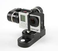 FeiYuテックゴーPRO4 Hero3の3plusウェアラブルカメラジンバル