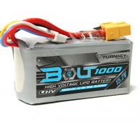 Turnigyボルト1000mAhの4S 15.2V 65〜130℃の高電圧Lipolyパック(LiHV)