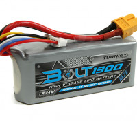 Turnigyボルト1300mAh 4S 15.2V 65〜130℃の高電圧Lipolyパック(LiHV)