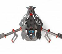 モスキートY400 400ミリメートル3軸ファイバーTricopterフレーム(Y6 CONFIG)