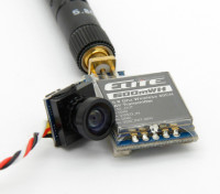Quanumエリート600mWの5.8GHz帯40CH FX718-6 AVトランスミッタとカメラコンボ(P&P)