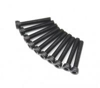 金属ソケットヘッド機械六角ネジM2.6x16-10pcs /セット