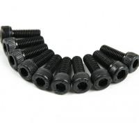 金属ソケットヘッド機械六角ネジM3x8-10pcs /セット