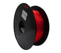HobbyKing 3Dプリンタフィラメント1.75ミリメートルフレキシブル0.8KGスプール(レッド)