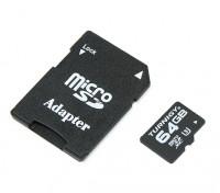 Turnigy 64ギガバイトU3マイクロSDメモリーカード(1個)