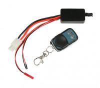 ワイヤレス受信機とワイヤレスリモートウィンチのコントローラー