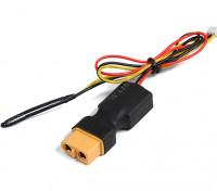 XT60インラインフライトパック電圧&OrangeRxテレメトリシステム用の温度センサー。