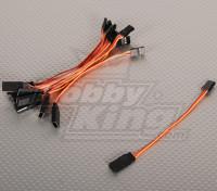 10CMサーボリード(JR)32AWGウルトラライト(10個入り/袋)