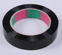 ウイングテープ45micのx 24ミリメートルのx 100メートル(ナロー - ブラック)